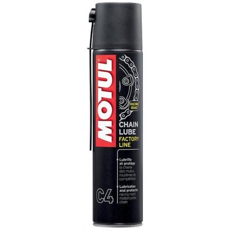 Óleo Lubrificante Corrente Motul Factory Line Chain Lube C4 (400 Ml) Spray