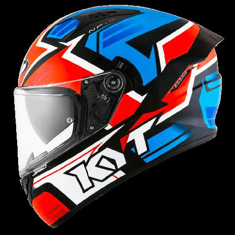 Capacete  KYT NF-R Artwork Red/Blue