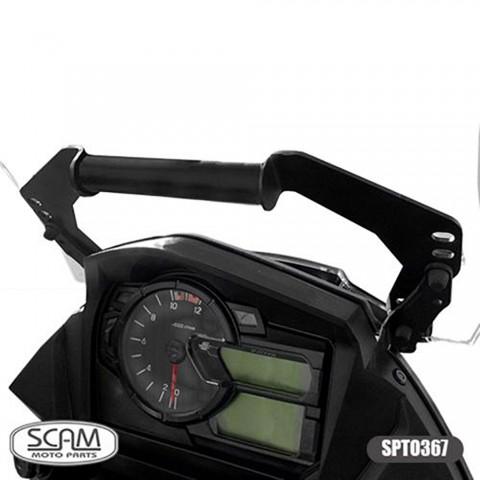 SUPORTE GPS V STROM 650 19 SCAM SPTO 367